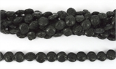 Lava Coin 12mm Str 34 beads-lava-Beadthemup