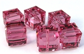 Swarovski 5601 8mm Rose 2 pack-beads-Beadthemup