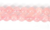 Rose Quartz Pol.Round 14mm Str 29 beads-rose quartz-Beadthemup