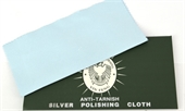 Silver Polishing cloth 17x17cm-cleaning and anti-tarnish-Beadthemup