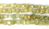 Aquamarine Fac.side drill Nugget app 13x10mm str 32 beads-gemstone beads-Beadthemup