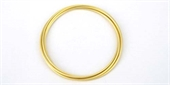 16ct Gold plt Bangles set of 5 cnntcd 68-silver, rhodium and gold plate-Beadthemup