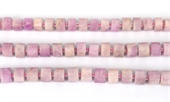 Kunzite Fac.Wheel 10x7mm str 41 beads-kunzite-Beadthemup