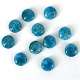 Apatite Madagascar Pol.Flat round 12mm EACH BEADS-3 ring modern gemstone 14k gold filled earrings-Beadthemup