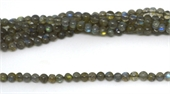 Labradorite Polished Round assorted 2.7mm-3.5mm Strands-beads incl pearls-Beadthemup