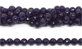 Amethyst Faceted Round 10mm strand 39 beads-amethyst-Beadthemup