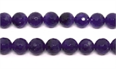 Amethyst Faceted Round 14mm strand 28 beads-amethyst-Beadthemup