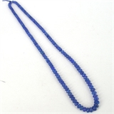 Tanzanite pol rondel str 6.5-7.7mm 50cm long-tanzanite-Beadthemup