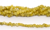 Yellow Garnet Chip approx 5-7mm strand 86 beads-gemstone beads-Beadthemup