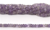 Amethyst Carved Melon 7x4mm strand 100 beads-amethyst-Beadthemup