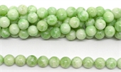 Moonstone GREEN Polished round 10mm strand 39 beads-moonstone-Beadthemup
