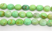 Chrysophase Nugget 15x20mm strand 20 beads-chrysophase-Beadthemup
