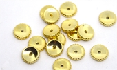 14k Gold Filled Rondel bead 9x2mm 5 pack-beads and spacers-Beadthemup