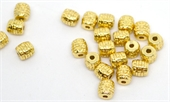 14k Gold Filled Tube bead 6.7x6.7mm 2 pack-findings-Beadthemup