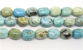 Blue Opal African Polished Nugget 15x20mm Strand 20 beads-beads incl pearls-Beadthemup