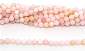Pink Opal Faceted Round 6mm strand 63 beads-gemstone beads-Beadthemup