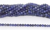 Tanzanite Faceted round 4.5mm strand 82 beads-tanzanite-Beadthemup