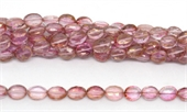 Mystic Quartz Pink Faceted Oval 10x7mm Strand 40 beads-quartz-Beadthemup