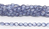 Mystic Quartz Blue Faceted Oval 10x7mm Strand 40 beads-quartz-Beadthemup