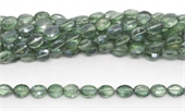 Mystic Quartz Green Faceted Oval 10x7mm Strand 40 beads-quartz-Beadthemup