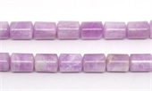 Kunzite Polished Barrel 11x14mm Styrand 27 beads-kunzite-Beadthemup
