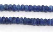 Kyanite Faceted Rondel 10x5mm strand 66 beads-gemstone beads-Beadthemup
