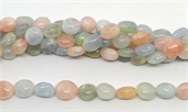 Beryl Polished Nugget 12x16mm strand 24 beads-beryl and morganite-Beadthemup