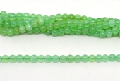 Chrysophase Australian pol.Round 6mm strand 74 beads-beads incl pearls-Beadthemup