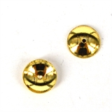 14k Gold filled Cap 6mm 6 pack-findings-Beadthemup