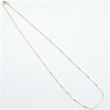 Sterling Silver 1.2mm box Chain 51cm 1 pack-findings-Beadthemup
