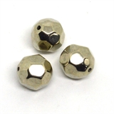 Base Metal Bead 20mm Faceted 2pk-findings-Beadthemup