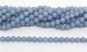 Angelite Polished Round 8mm beads per strand 47 Beads-beads incl pearls-Beadthemup
