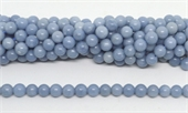 Angelite Polished Round 10mm beads per strand 37 Beads-beads incl pearls-Beadthemup