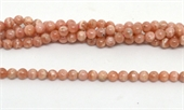 Argentina Rhodochrosite Polished Round 4.8-5.1mm strand 79 beads-beads incl pearls-Beadthemup