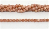 Argentina Rhodochrosite Polished Round 5.8-6mm strand 67 beads-beads incl pearls-Beadthemup