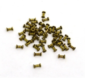 Gold Plated Copper Bead Tube 8mm 10 pack-findings-Beadthemup