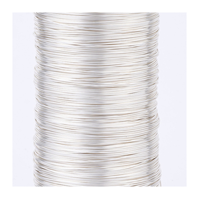 Silver plated copper wire 0.6 2m length