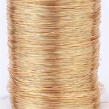 Gold plated copper wire 0.6 2m length-findings-Beadthemup