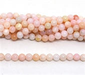 Pink Opal A Polished round 6mm strand 63 beads-beads incl pearls-Beadthemup