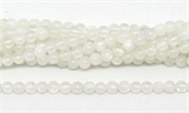 3A Moonstone polished round 4mm 93 beads per strand-beads incl pearls-Beadthemup