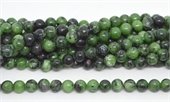 Ruby Zoisite polished round 8mm 47 beads per strand-beads incl pearls-Beadthemup
