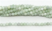 Emerld polished round 3mm 122 beads per strand-beads incl pearls-Beadthemup
