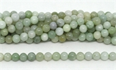 Emerld polished round 6mm 66 beads per strand-beads incl pearls-Beadthemup