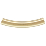 14k Gold filled tube 3x20mm 2 pack-findings-Beadthemup