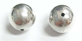 Sterling Silver Bead Round 14mm 1 pack-beads and spacers-Beadthemup