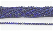 Lapis Fac.Round 3mm strand 100 beads-beads incl pearls-Beadthemup