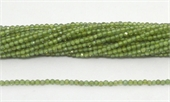 Green Apatite Fac.Round 2mm strand 168 beads-beads incl pearls-Beadthemup