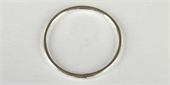 Sterling Silver Ring 2x29mm round 2 pack-connectors incl.links and bars-Beadthemup