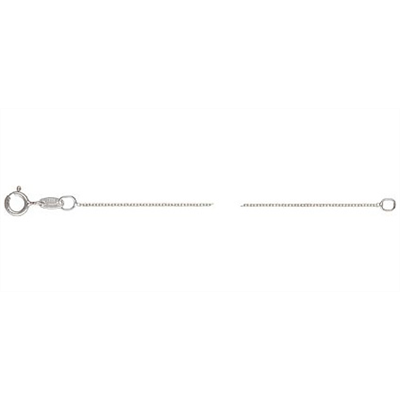 Sterling Silver 45cm Cable Chain necklace