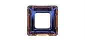 Swarovski 4439 20mm Cosmic Square Crystal Volc-donuts and cosmic rings-Beadthemup